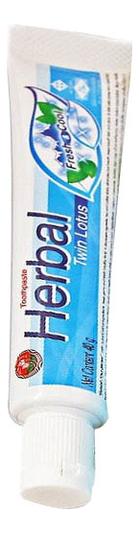 Зубная паста растительная с травами Herbal Fresh & Cool Toothpaste: Зубная паста 40г цена 2017