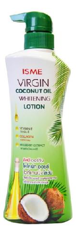 Купить Молочко для тела Virgin Coconut Oil Whitening Lotion 400мл, ISME