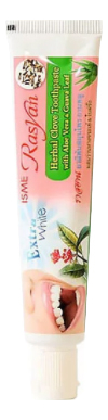 Купить Зубная паста с экстрактом алоэ вера Rasyan Extra White: Зубная паста 30г, ISME