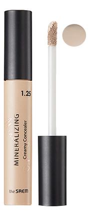 Купить Консилер для маскировки недостатков кожи Mineralizing Creamy Concealer 4мл: 1.25 Creamlatte, The Saem