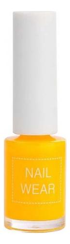 Фото - Лак для ногтей Nail Wear 7мл: 23 Forsythia Yellow лак для ногтей nail wear 7мл 73 blossom
