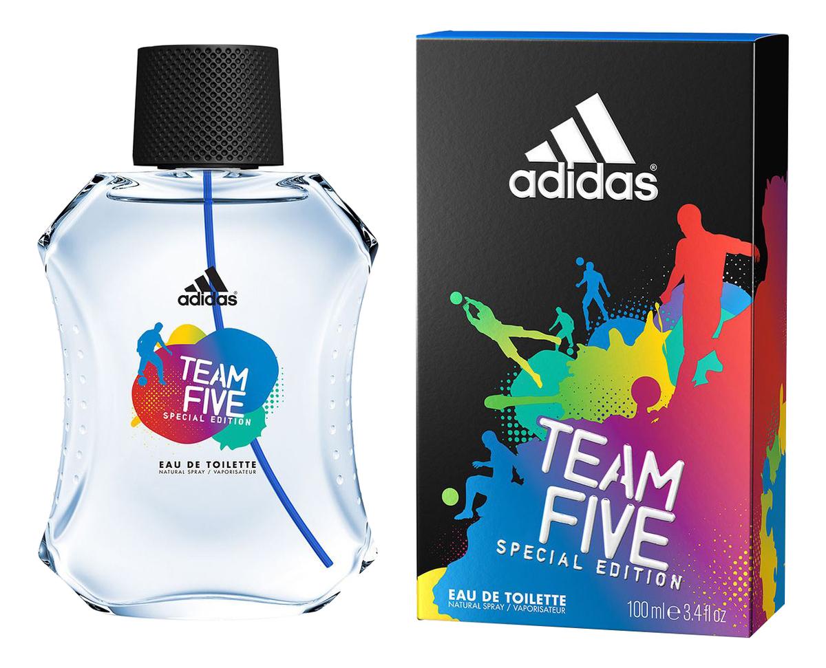Купить Team Five: туалетная вода 100мл, Adidas