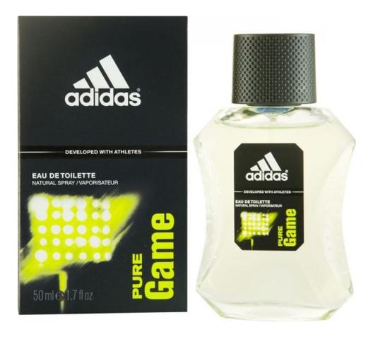 Adidas Pure Game: туалетная вода 50мл adidas pure game deo body spray