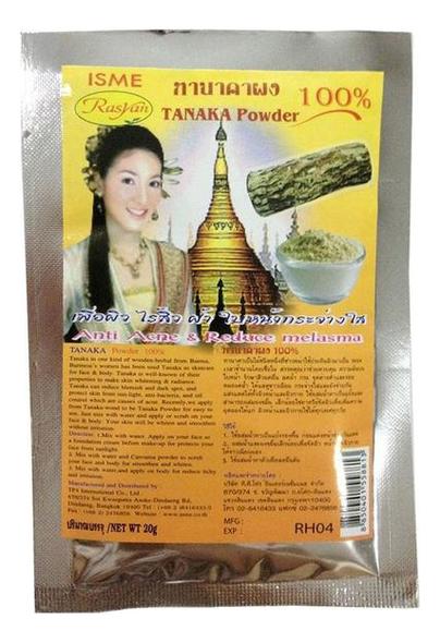 Фото - Порошковая маска-скраб для лица и тела Rasyan Tanaka Powder 20г румяна в шариках для лица powder balls 20г no 04