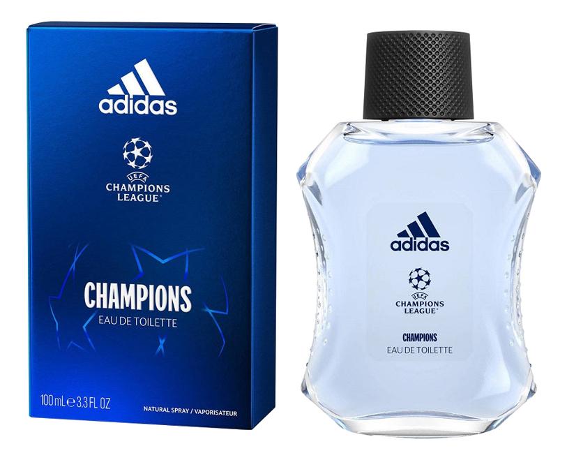 Adidas UEFA Champions League Edition: туалетная вода 100мл дезодорант мужской adidas uefa 4 champions edition