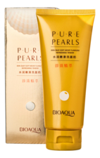 Bioaqua Пенка для умывания Pure Pearls Skin Silky Soft Moist Flawless 100г