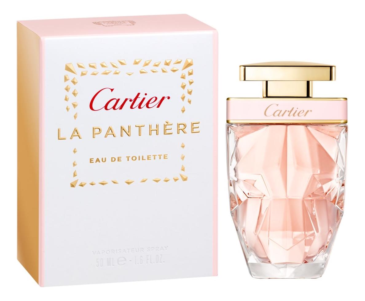 Cartier La Panthere Eau De Toilette: туалетная вода 50мл cartier la panthere туалетная вода
