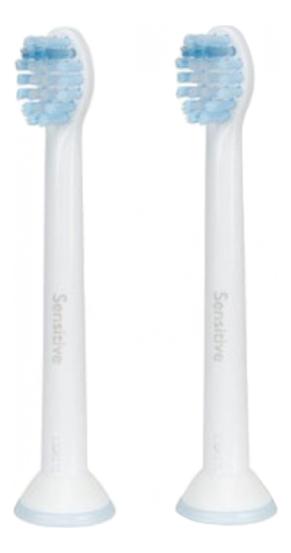 Купить Сменные насадки для электрической зубной щетки Sensitive Mini HX6082/07 2шт, PHILIPS