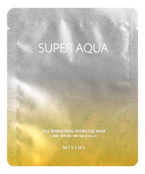 Регенерирующая маска для лица Super Aqua Cell Renew Snail Hydro Gel Mask 28г