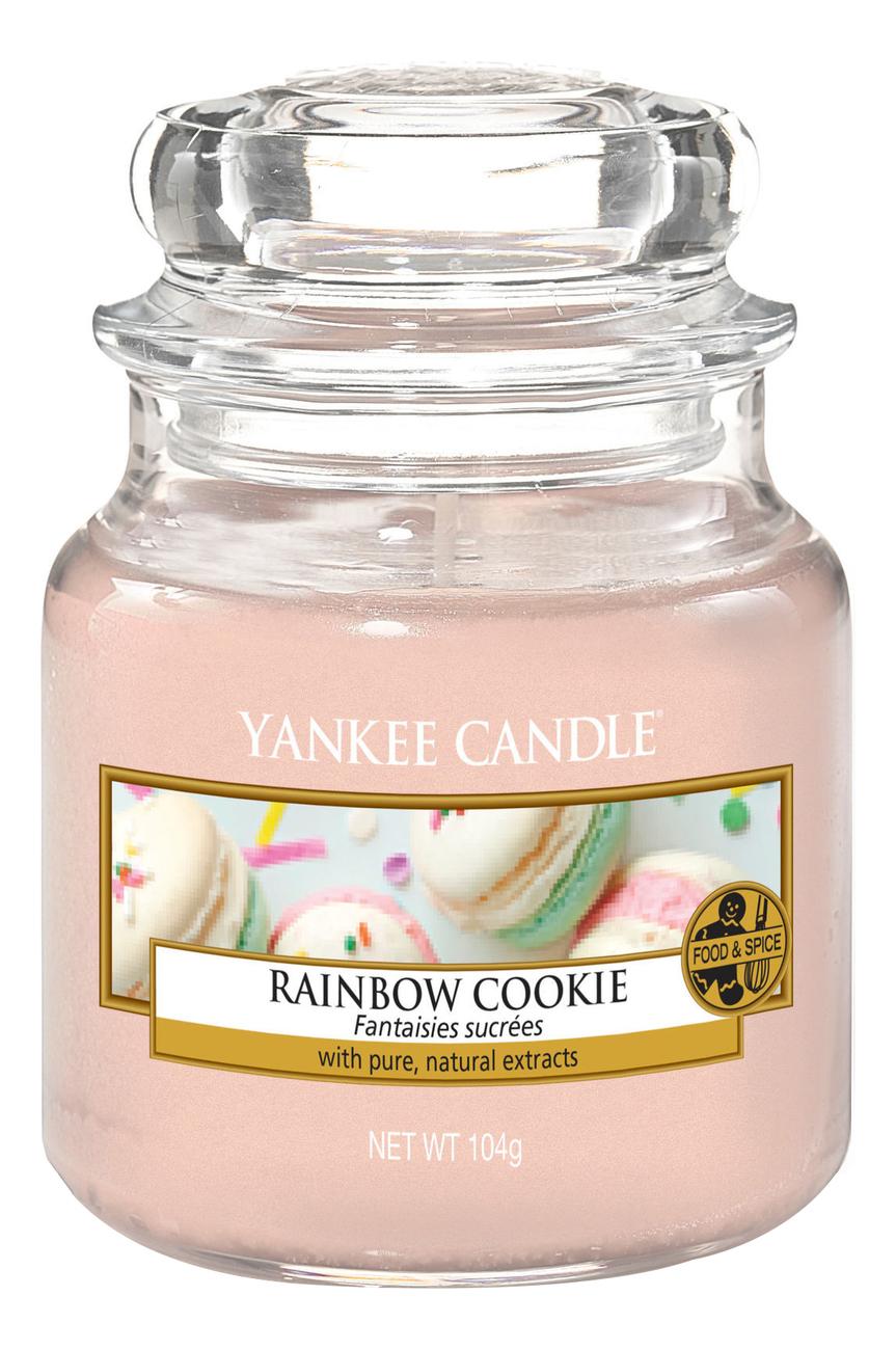 Фото - Ароматическая свеча Rainbow Cookie: Свеча 104г ароматическая свеча игристое вино свеча 70г