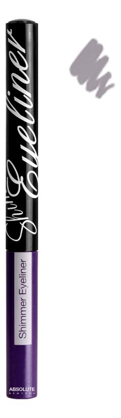 Подводка для глаз Shimmer Eyeliner 2,8г: NF012 Glitter Black