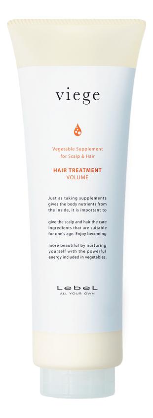 Маска для объема волос Viege Hair Treatment Volume: Маска 240мл