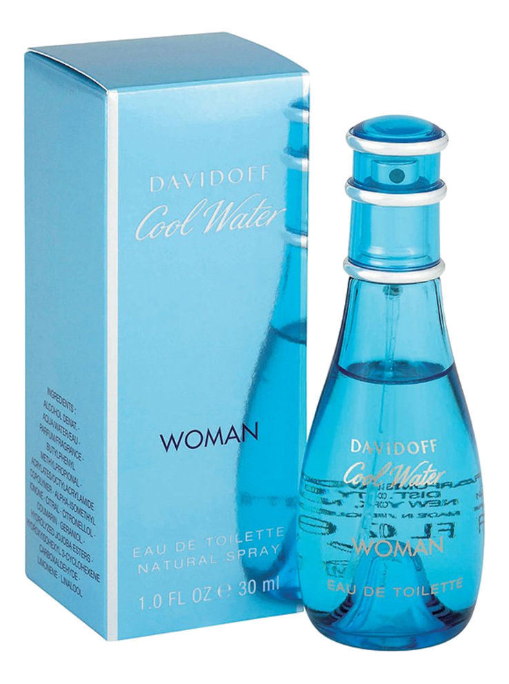 Davidoff Cool Water Woman: туалетная вода 30мл редакция журнала forbes woman forbes woman 02 2017