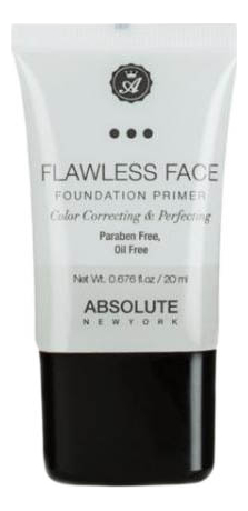 Праймер для лица Flawless Face Foundation Primer 20мл: NF080 Clear
