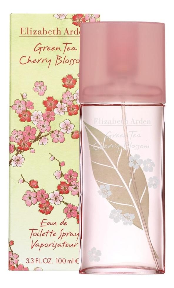 Green Tea Cherry Blossom: туалетная вода 100мл недорого