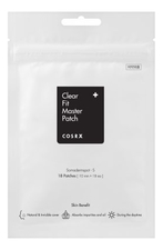 COSRX Патчи от акне Acne Clear Fit Master Patch 18шт