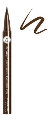 Подводка для глаз Pro Brush Eyeliner Pen: ABEP02 Dark Brown