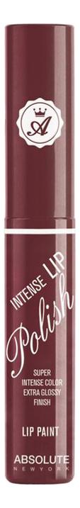 Блеск для губ Intense Lip Polish 6г: NFA91 Burgundy Plum