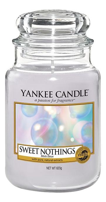 Ароматическая свеча Sweet Nothings: Свеча 623г свеча от комаров argus