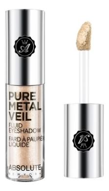Жидкие тени для век с металлическим эффектом Pure Metal Veil 1,5мл: AMV01 Champagne