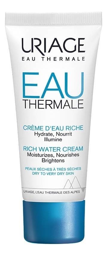 Купить Обогащенный крем для лица Eau Thermale Rich Water Cream 40мл, Uriage