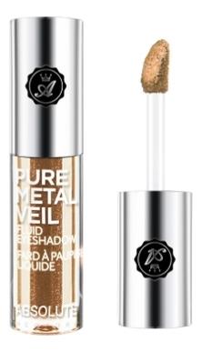 Жидкие тени для век с металлическим эффектом Pure Metal Veil 1,5мл: AMV02 Blingin Bronze