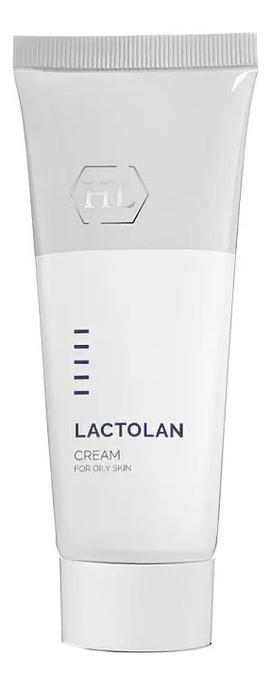Увлажняющий крем для жирной кожи лица Lactolan Moist Cream 70мл holy land lactolan cream mask