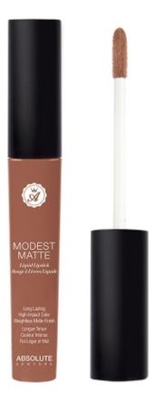 Матовая помада для губ Modest Matte 5мл: MML02 Wink