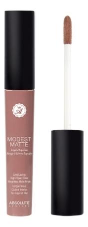 Матовая помада для губ Modest Matte 5мл: MML01 Lacy