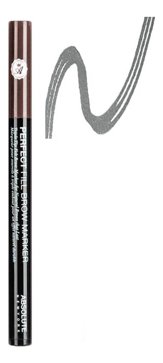 Маркер для бровей Perfect Fill Brow Marker 13мл: AEBM02 Espresso