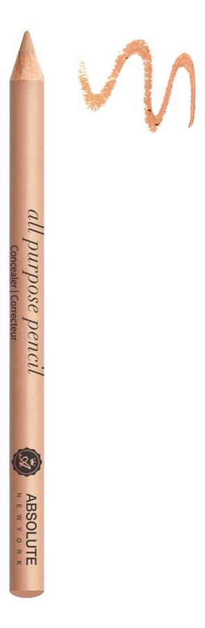 Универсальный карандаш для макияжа All Purpose Pencil 1г: APP02 Medium универсальный карандаш для макияжа all purpose pencil 1г app04 deep
