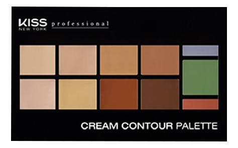 Кремовая палетка для контурирования лица Cream Contour Palette 21,76 кремовая палетка для контурирования nyx