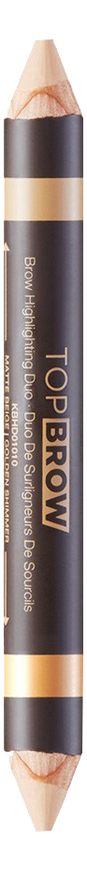 цена на Двойной хайлайтер для бровей Top Brow Brow Highlighting Duo 5,5г