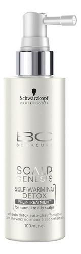 Самонагревающаяся детокс-маска для волос BC Scalp Genesis Self-Warming Detox 100мл недорого