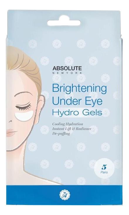 Маска для области вокруг глаз Brightening Under Eye Hydro Gels 5пар консилер для кожи вокруг глаз brightening and tightening under eye concealing 2 2мл wand caramel