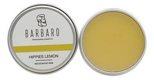 Barbaro Воск для усов Hippies Lemon Moustache Wax 12г