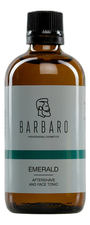 Barbaro Тоник после бритья Emerald Aftershave And Face Tonic 100мл