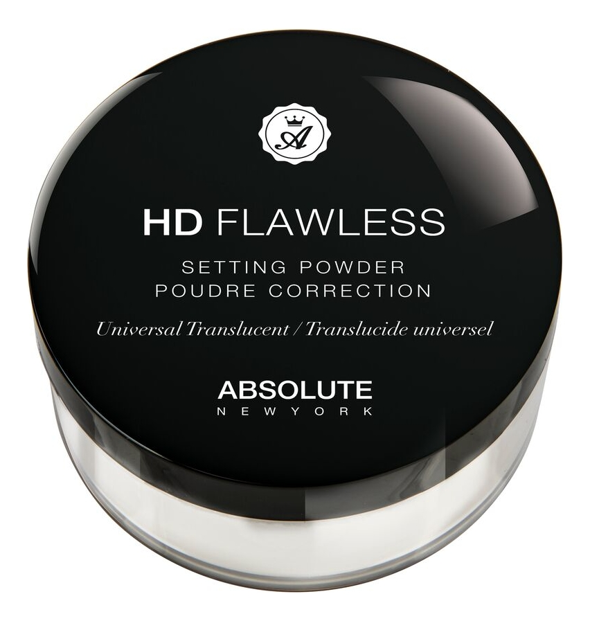 Рассыпчатая пудра для лица HD Flawless Setting Powder 15г: HDSP01 Universal Translucent