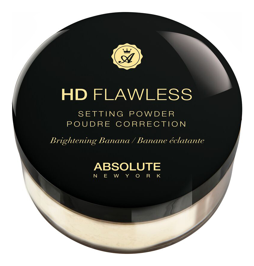 Рассыпчатая пудра для лица HD Flawless Setting Powder 15г: HDSP02 Brightening Banana