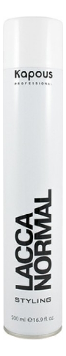 Лак аэрозольный для волос нормальной фиксации Styling Lacca Normal Styling: 500мл