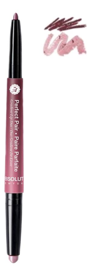 Помада-карандаш для губ Perfect Pair Graient Lip Duo 1г: ALD 04 Rose Wood