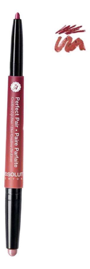 Помада-карандаш для губ Perfect Pair Graient Lip Duo 1г: ALD 05 Old Hollywood