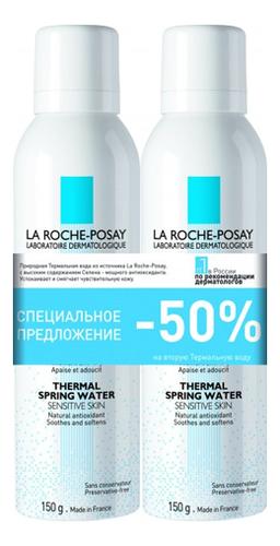 Купить Термальная вода для лица Thermal Spring Water: Термальная вода 2*150мл, LA ROCHE-POSAY
