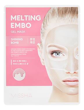 Тканевая отбеливающая маска для лица Embo Gel Mask Shining Bomb 30г