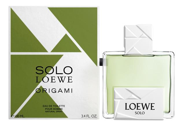 Loewe Solo Origami: туалетная вода 100мл