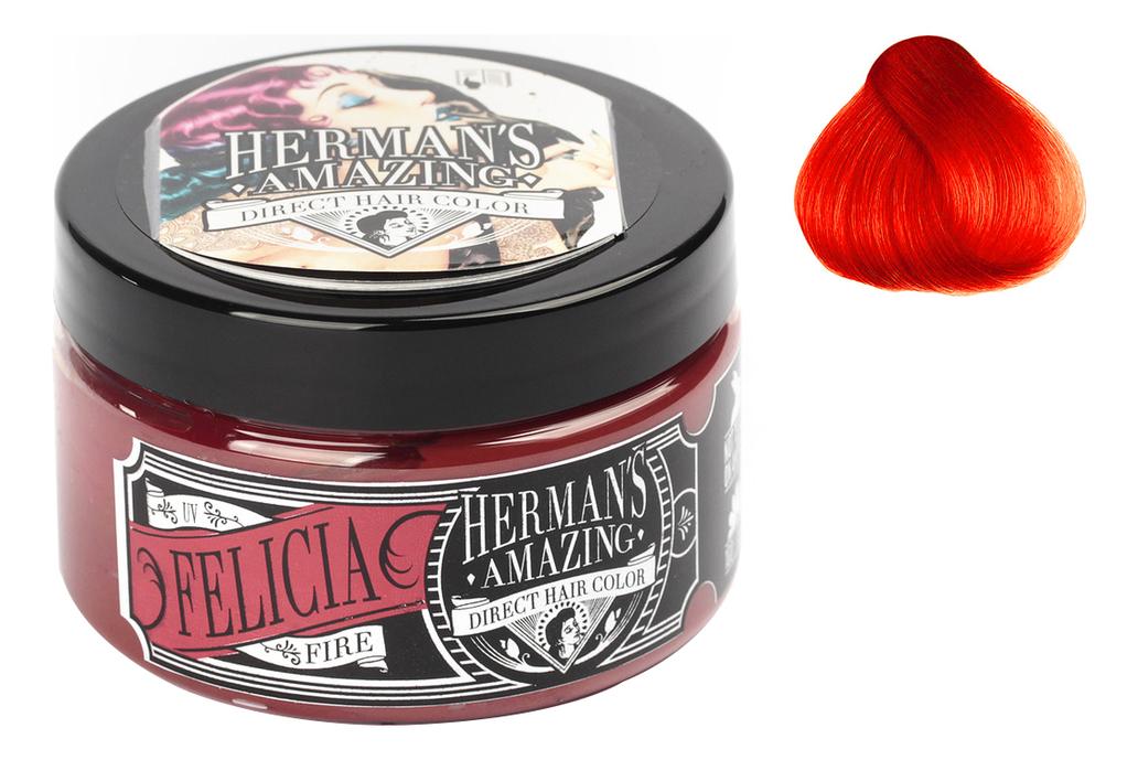 Краска для волос Direct Hair Color 115мл: Felicia Fire