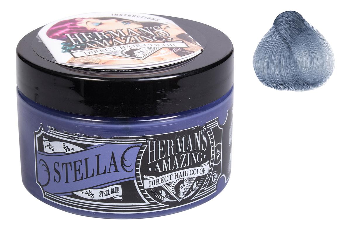 Краска для волос Direct Hair Color 115мл: Stella Steel Blue