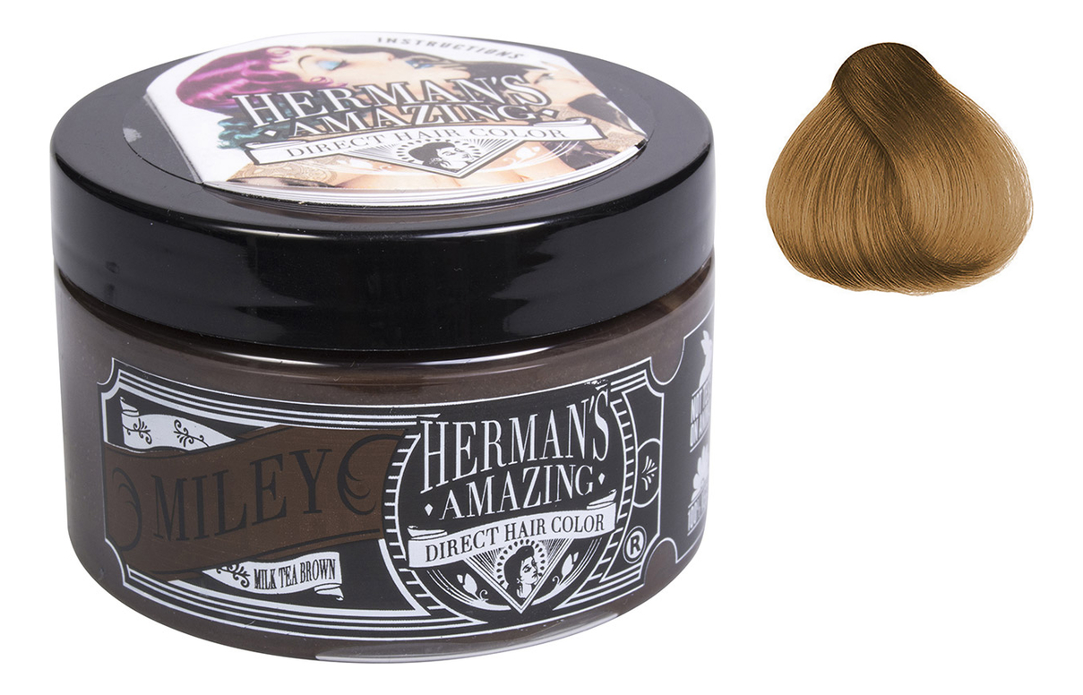 Краска для волос Direct Hair Color 115мл: Miley Milk Tea Brown