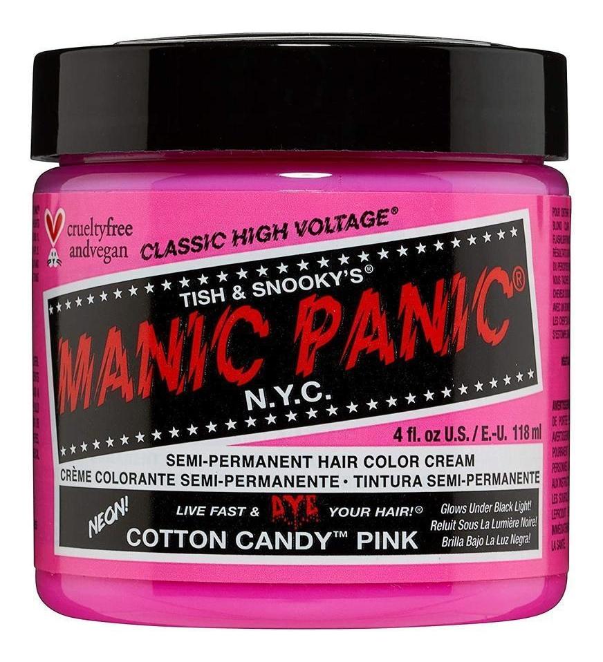 Краска для волос High Voltage 118мл: Cotton Candy Pink