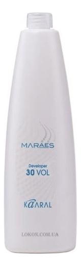 Купить Окисляющая эмульсия для окрашивания волос 9% Maraes Developer: Эмульсия 900мл, KAARAL